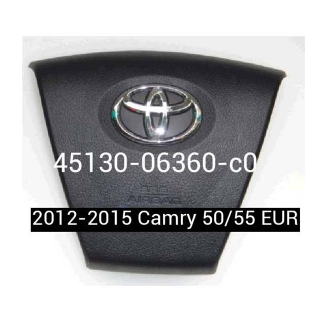 Toyota Camry 2015 Airbag Steering Wheel Cover